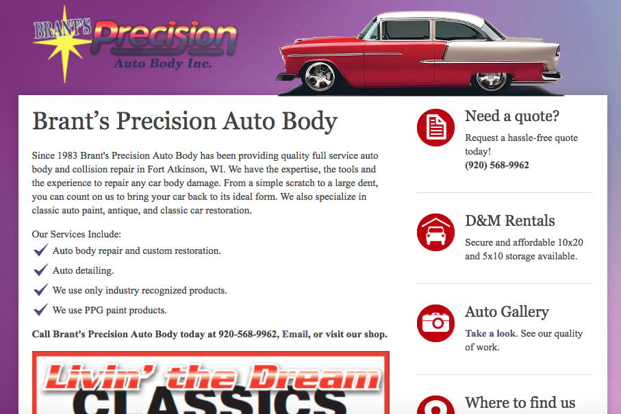 Brants Precision Auto Body